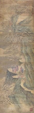 唐志契(1579-1651)山水画