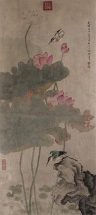 慈禧  花卉
