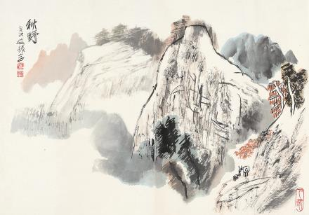 张振学(b.1940)秋野