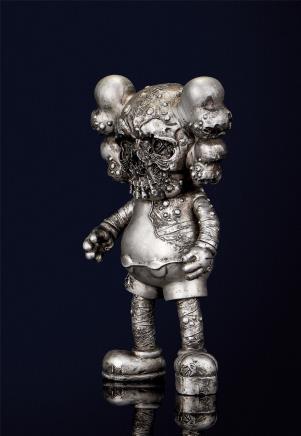 KAWS   骷髅(银)