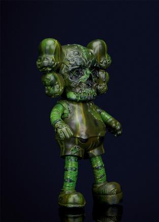 KAWS   骷髅(绿)