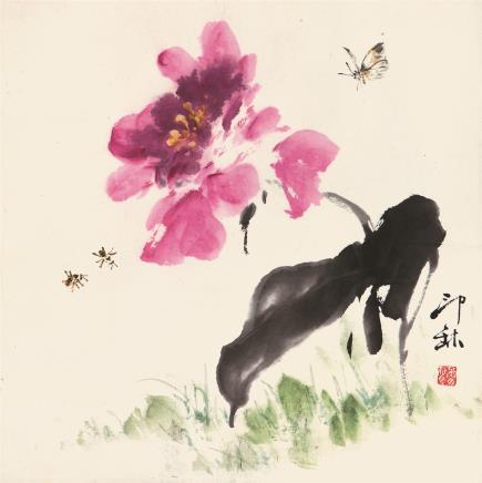 萧  朗(1917-2010)  蝶恋花