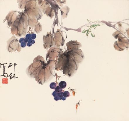 萧  朗(1917-2010)  秋趣