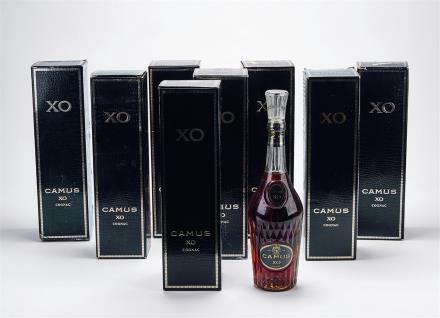 80年代 卡慕长瓶法国XO顶级干邑 共8瓶