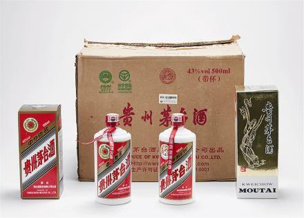 2007-2008年 飞天茅台酒一箱 共12瓶