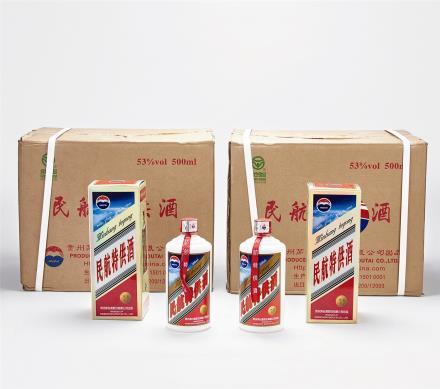 2013年 民航特供茅台酒二箱 共24瓶