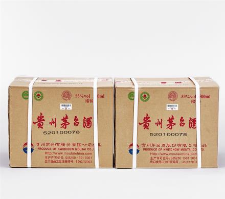 2013年 飞天茅台酒二箱 24瓶