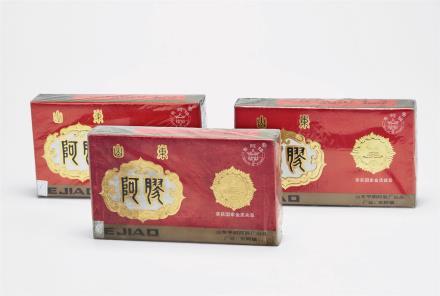 1996年 福牌阿胶(500克装)三盒 共1500g