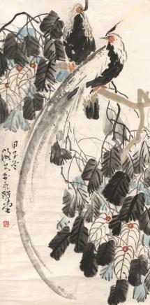 李琼玖 花鸟  1984年