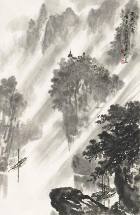 吴一峰 巫峡风雨