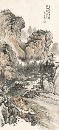 汪慎生  山水  1949
