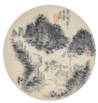 黄宾虹  山居图