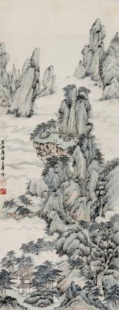 唐子华  云壑图