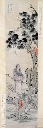 黄山寿  洗桐