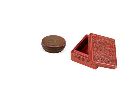 清  漆盒一组(两件)