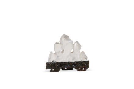 明  水晶山子(楠木座)