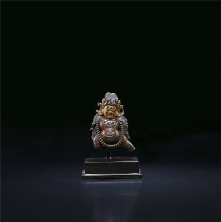 15世纪  黑财神像(卫藏)