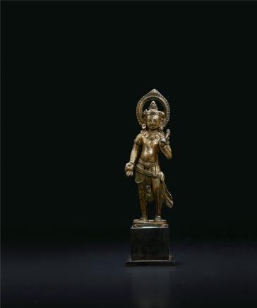 9-10世纪  莲花手菩萨(尼泊尔风格)