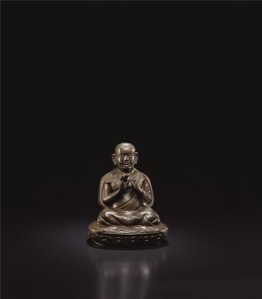 16世纪  绒敦·玛威僧格像(卫藏)