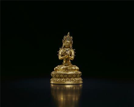 15世纪  释迦牟尼佛像(卫藏)