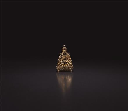 17世纪  莲花生大师像(不丹)