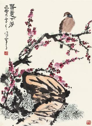 孙其峰(b.1920)春意十分