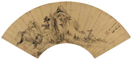 董其昌(1555-1636)山居图