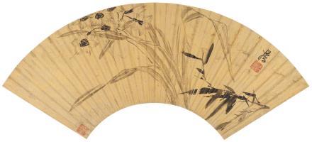 陈洪绶(1598-1652)水仙