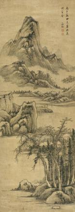 罗牧(1622-1750)江山新绿