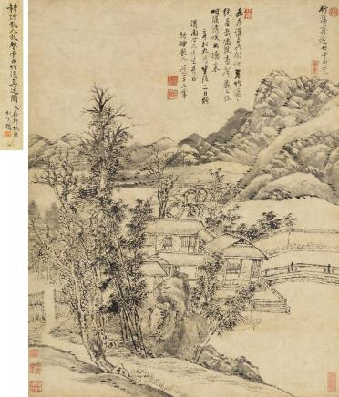 王翚(1632-1717)竹溪真逸