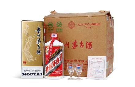 2005年贵州茅台酒(原箱)