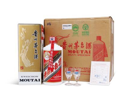2004年贵州茅台酒(原箱)