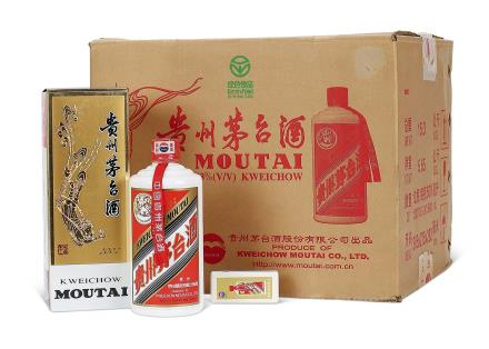 2002年贵州茅台酒(原箱)