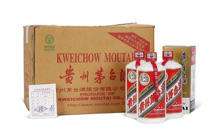 2001年贵州茅台酒(原箱)