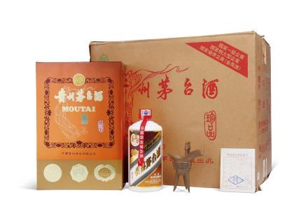 2000年珍品茅台酒(原箱)
