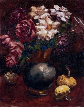 吴作人(1908-1997)蔷薇