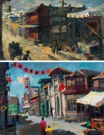 赵大陆北平旧景、和平解放