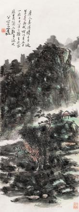 黄宾虹(1865-1955)山明水秀