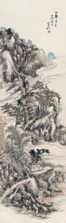 黄宾虹(1865-1955)山静日长