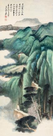 张大千(1899-1983)  空谷足音