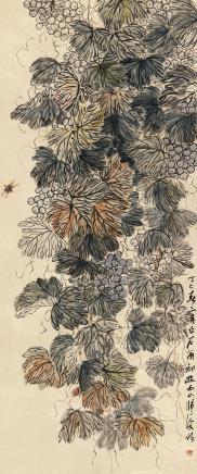 齐白石(1864-1957)葡萄