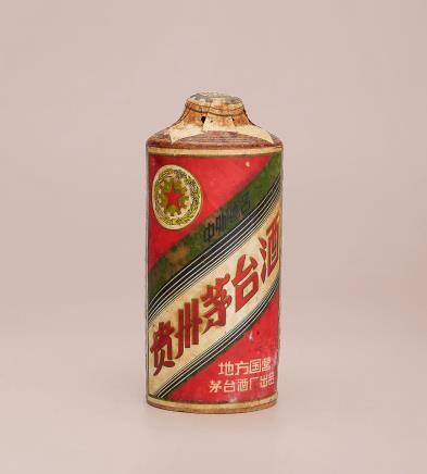 五十年代未期土陶瓶五星牌贵州茅台酒