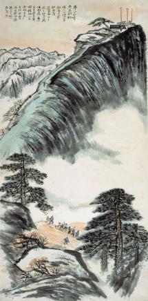 何海霞(1908-1998)华山西峰