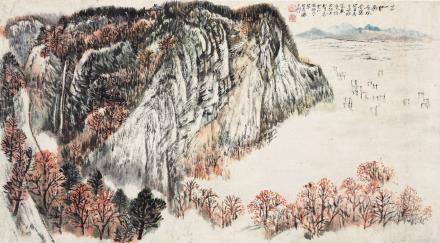 何海霞(1908-1998)万山红遍
