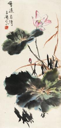 王雪涛(1903-1982)香远益清