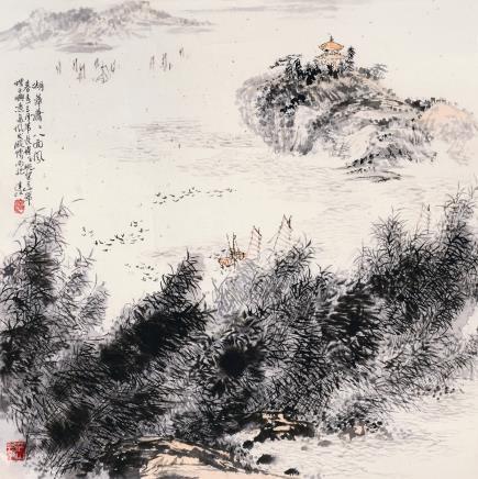 刘达江山水