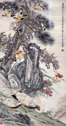 陈旧村  花鸟