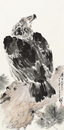 刘继卣(1918-1983)松鹰