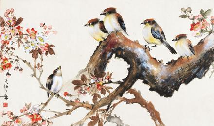 黄幻吾(1906-1985)花鸟