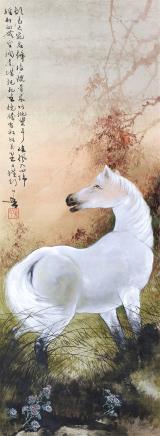 黄幻吾(1906-1985)大宛胡马